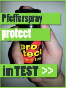 Protect Pfefferspray getestet Abwehrspray Youtube