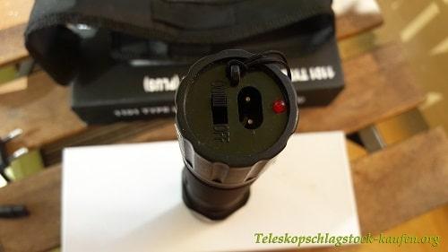 Taschenlampe mit elektroschocker ᑕ❶ᑐ aus der cz test