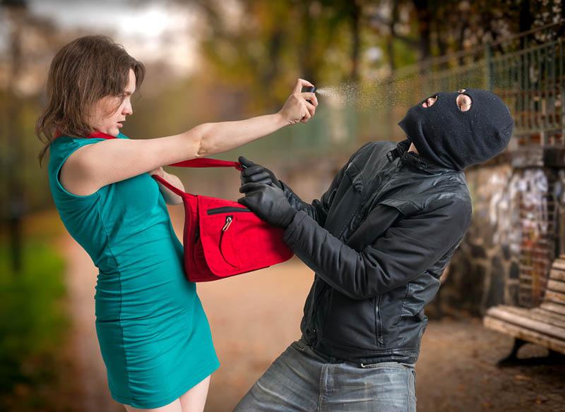 Pfefferspray Selbstverteidigung